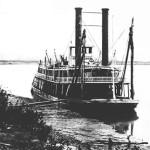 Steamship Deer Lodge on the Missouri River
