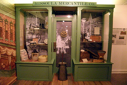 Missoula Mercantile Display